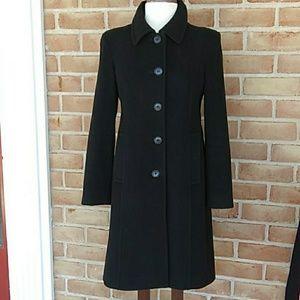 Anne Klein wool / cashmere coat